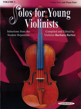 Solos for Young Violinists Violin Part and Piano Acc., Volume 3 [Violin]