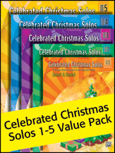 Celebrated Christmas Solos  Value Pack