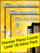 Alfred    Premier Piano Course Lesson/Theory/Performance 1B Value Pack