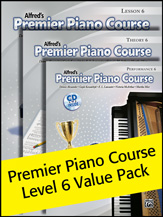 Alfred Premier Piano 6 Value Pack 2012