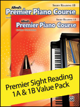 Alfreds Premier Piano Sight Reading 1A-1B Value Pack