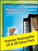 Alfred's Premier Piano Course: Notespeller 2A & 2B Value Pack