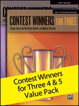 Contest Winners for Three: Books 4 & 5 Value Pack