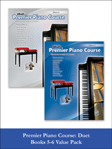 Alfred Premier Duet 5 & 6 [value pack] Piano Duet