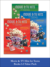 Movie & TV Hits for Teens, Books 1-3 [Piano] -