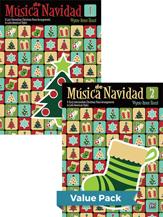 Musica de Navidad, Books 1 & 2 (Value Pack) - Teaching Pieces