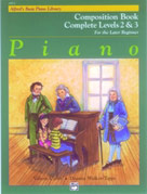 Alfred's Basic Piano Course: Composition Book Complete 2 & 3 [Piano]