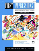 First Impressions Piano Method 4