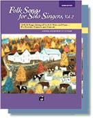 Folk Songs for Solo Singers Med Low Vol 2 Medium Low
