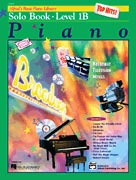 Alfred's Basic Piano Course : Top Hits! Solo Book 1B [Piano]
