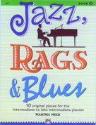 Jazz, Rags and Blues, Book 3 - Piano