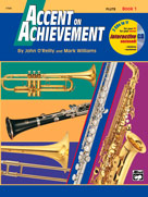 Accent on Achievement Book 1 Flute