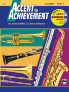 Accent on Achievement, Clarinet Bk. 1