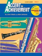 Accent on Achievement Book 1 Bass Clar