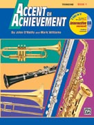Accent on Achievement Book 1 for Trombone