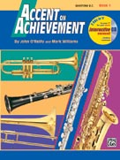 Accent on Achievement Book 1 for Baritone B.C.
