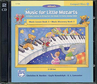 Music For Little Mozarts CD Book 3