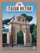 Gateway to Italian Diction: Teacher's Supplementary Materials (Bk/CD)