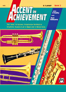 Accent on Achievement 3  Clarinet