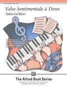 Valse Sentimentale à Deux for 1 Piano 4 Hands 1P4H