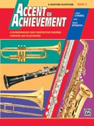 AOA Bari. Sax Bk. 2 Accent on Achievment Book & CD