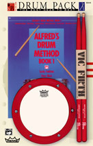 Alfred's Drum Pack, Book 1 [Snare Drum]