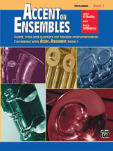 Accent on Ensembles, Book 1 [Percussion]
