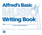 "Alfred's Basic Music Writing Book (8"" x 6"") Book"