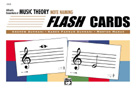 Alfred's Essentials of Music Theory Note Naming Flashcards