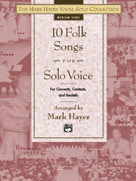 10 Folk Songs For Solo Voice - Med High