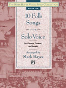 10 Folk Songs For Solo Voice - Med Low