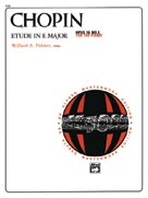 Etude in E Major, Opus 10, No. 3 [Piano]