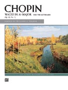 Waltz in A-flat, Op. 69, No. 1 - Piano