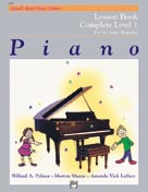 Alfred's Basic Piano Library: Lesson Book Complete 1 1A-1B