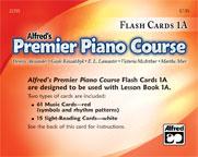 Premier Piano Course: Flash Cards, Level 1A [Piano]