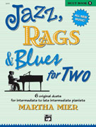 Jazz, Rags, and Blues for Two, Book 3 - 1 Piano 4 Hands
