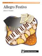 Allegro Festivo Intermediate Piano Duet 1P4H