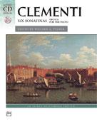 6 Sonatinas Clementi Book & CD
