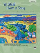 Ye Shall Have a Song (Bk/CD) - Medium High Voice and Piano