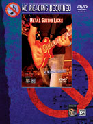 No Reading Required: Metal Guitar Licks [Guitar]