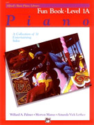 Alfred's Basic Piano Course : Fun Book 1A [Piano]