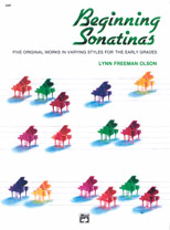 Beginning Sonatinas IMTA-A [elementary piano] Lynn Olson
