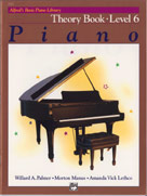 Alfred's Basic Piano Library: Theory Book 6 [Piano]