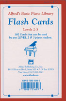 Basic Piano Library: Flash Cards 2-3 Piano
