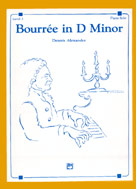 Bourree in D Minor - Piano