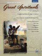 Great Spirituals (Portraits in Song) Medium Low w/CD