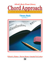 Alfred's Basic Piano: Chord Approach Theory Book 1 [Piano]