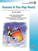 Famous & Fun Pop Duets, Book 2 [Piano]
