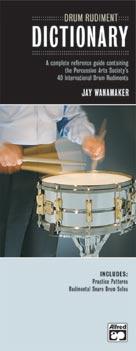 Drum Rudiment Dictionary (Book + CD)