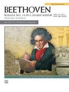 "Sonata No. 14 in C-sharp Minor (""Moonlight"") - Piano"